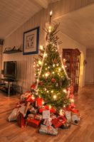 Christmas Tree HDR by SindreAHN