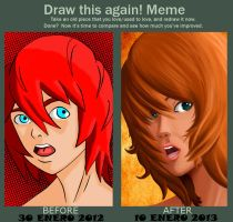 Meme before and after by kronoshooko