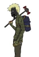 Post apocalyptic drifter 02 (Old - 2009) by Shredded-soul