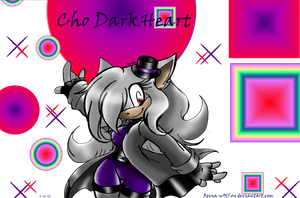 Art trade: Cho Darkheart//magical whimzy by Reina-wOlf