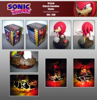 F4F Classic Knuckles Statue by Fuzon-S