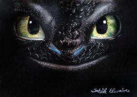 Toothless by s-noriko