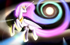 This is the Star! by BluDraconoid