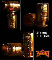 100 gramme vodka small cup by russoturisto