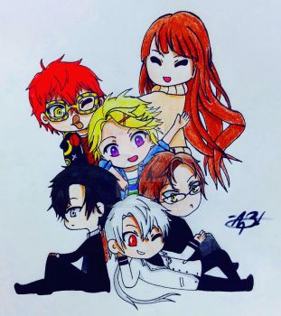 Mystic Messenger  by MeowImAvery