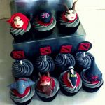 Dota 2 cupcakes by I-am-Ginger-Pops