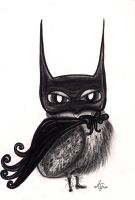 The Dark Night Owl by InkyDreamz