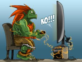 I am Blanka by geogant