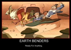 Earth Benders by Tripsyr1