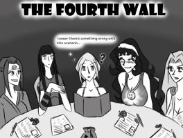 The Fourth Wall Cover by Kittysan101