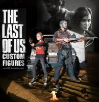 The Last of Us: Custom Figures by Nero749