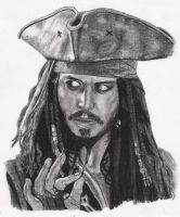jack sparrow by tin23uk