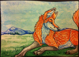 iron Artist Challenge ACEO 29 by nightspiritwing