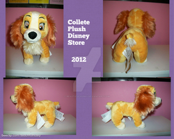 Collete Plush Lady and the Tramp by BeautifulHusky