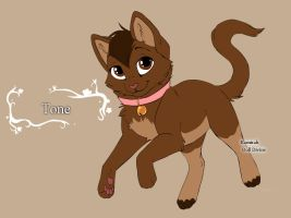 Kitty-version of me :D by DrawingTone