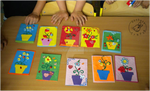 Quilling workshop for preschoolers by Eti-chan