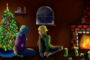 Celebrate Christmas by the Fire with Me by dramtical-gay