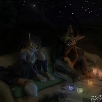 summer nights by Mouva