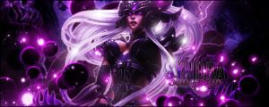 League of Legends - Syndra, the dark Sovereign by GinXen