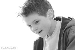 Nick in Black and White by PriestlyDetails