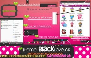 ThemeBlackLove For windows XP EDiTDED BY ME by CrayoonzitAw