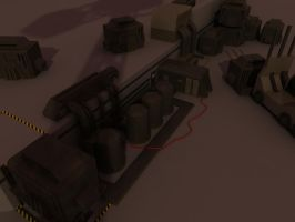 early industrial WIP by Affet-kak