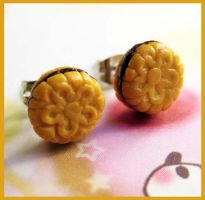 Cookies Studs Earrings by cherryboop