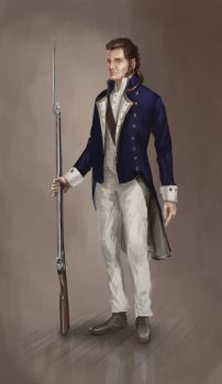 British royal navy sailor by Skvor