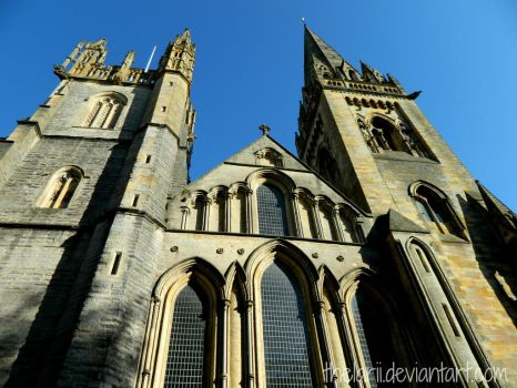 Llandalf Cathedral, Cardiff by TheLarii