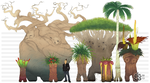 Fun with Pokemon iv - Exeggutor by manic-in-tricolour