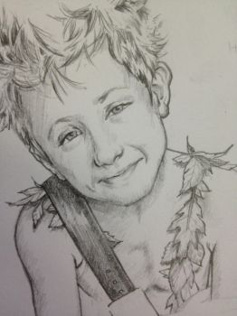 Peter Pan sketch by TGB-illustrations