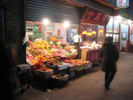 Late Night Fruit Stand by JimBobBillyJoeJang