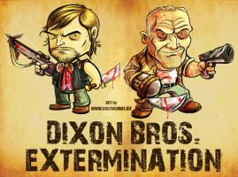 The Dixon Brothers Extermination by DustinEvans