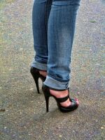 High heels by SyllAndy