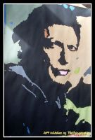 Jeff Goldblum Abstract by TheFlyingHeart