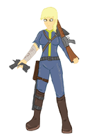 Fallout: Derpy by glue123