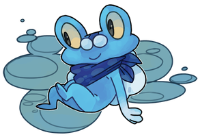 froakie by fishcycle