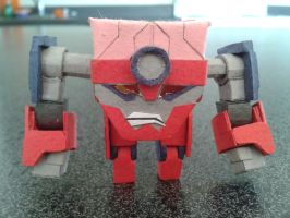 Lagann by BuildMyPaperHeart