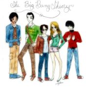 The Big Bang Theory by YamakaiYoko