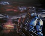 Halo comission by SoulRebel9