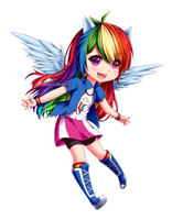Rainbowdash by epicCOOKIninja