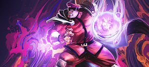 M.Bison  Tag by Renan-DS