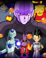 Poster Warriors Universe 6 by SaoDVD