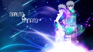 Naruto and Minato Wallpaper FREE by DieVentusLady