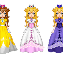 Peach- Melee Palette Swap by General-Guy