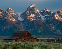 Sunrise on Mormon Row 1 by mikewheels