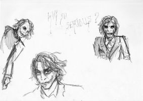 Just some joker sketches by Nanook94