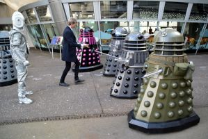 The Doctor and the Daleks (2) by masimage