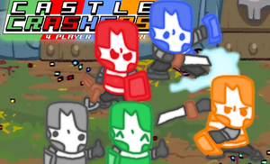Castle Crashers Party! by thegamingdrawer
