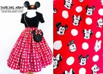 Polka Dot Pals Disney Vintage Inspired Skirt by DarlingArmy